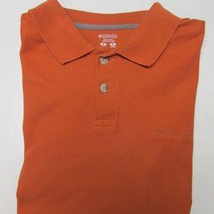 Columbia Men's S/S Polo/Golf Shirt Size Medium